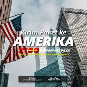 kirim paket ke Amerika